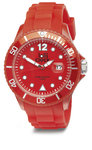 Lolliclock with date, red