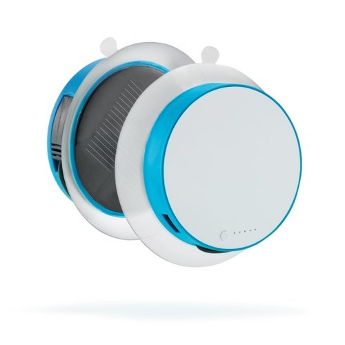 Port solar oplader 1.000 mAh, turquoise