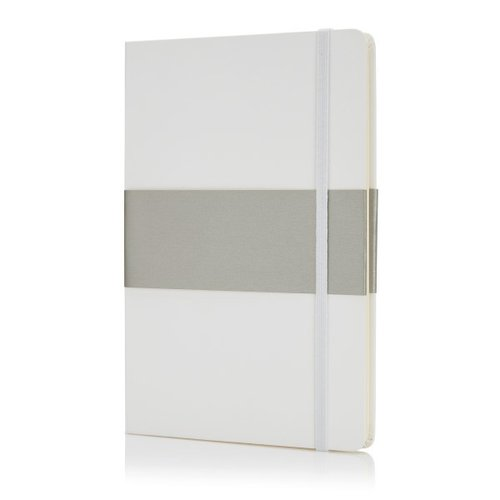 Deluxe hardcover A5 notitieboek, wit