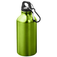 Oregon drinking bottle with carabiner, Apple Green