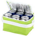 Spectrum 6 can cooler bag, Apple Green