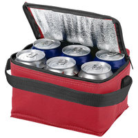 Spectrum 6 can cooler bag, Red