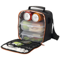 Bergen cooler lunch pack,  solid black