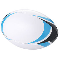 Stadium rugby ball, White,Blue
