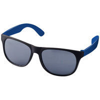 Retro Sunglasses,  solid black,Blue