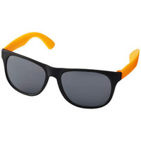 Retro Sunglasses, Neon Orange