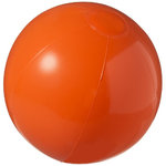Bahamas solid beach ball, Orange