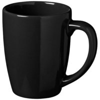 Medellin ceramic mug,  solid black