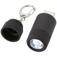 Avior rechargeable USB key light,  solid black