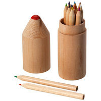 12 piece pencil set, Wood