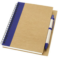 Priestly A6 notitieboek met pen, Naturel,Navy