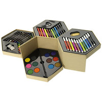 52 piece colouring set, Multi-colour