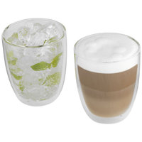 Boda 2-piece glass set, Transparent clear