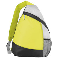 Armada polyester sling rugzak, Lime
