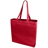 Odessa cotton tote, Red