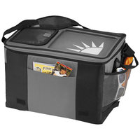 50-Can Table Top Cooler,  solid black,Grey