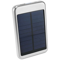 Bask 4000 mAh Solar Power bank, Silver