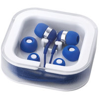 Sargas earbuds with microphone, Royal blue