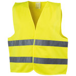 Professional safety vest, Yellow