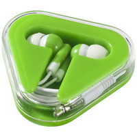 Rebel Earbuds, Lime,White