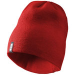Level beanie, Rood