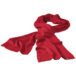 Mark scarf, Red
