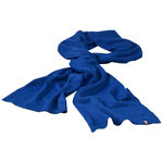 Mark scarf, Royal blue