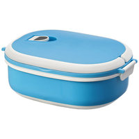 Spiga lunch box, Blue,White