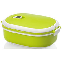 Spiga lunch box, Green,White