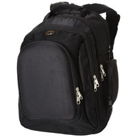 "Neotec 15.4"" laptop backpack,  solid black"