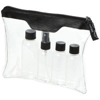 Munich airline approved travel bottle set, Transparent
