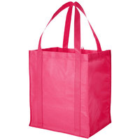 Liberty non woven grocery Tote, Cerise