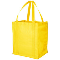 Liberty non woven grocery Tote, Yellow