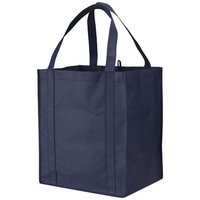 Liberty non woven grocery Tote, Navy