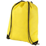 Evergreen non woven premium rucksack, Yellow