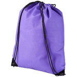 Evergreen non woven premium rucksack, Purple