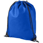 Evergreen non woven premium rucksack, Royal blue