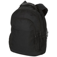 "Journey 15.4"" Laptop Backpack,  solid black"