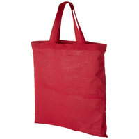 Virginia Cotton tote, Red