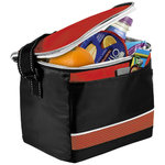 Levi Sport Cooler Bag,  solid black,Red