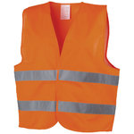 Professional safety vest, Orange
