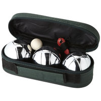 Jose 3-ball petangue set, Green,Silver