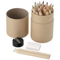 26 piece pencil set, Wood