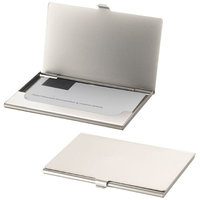Singapore business card holder, Silver
