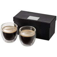 Boda 2-piece espresso set, Transparent