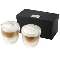 Boda 2-piece coffee set, Transparent