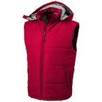 Gravel bodywarmer, Red