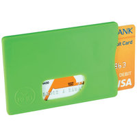 RFID Credit Card Protector, Lime