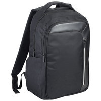 "Vault RFID 15.6"" Computer Backpack,  solid black"
