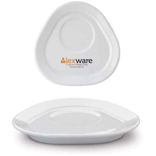 Saucer Satellite triangle, White